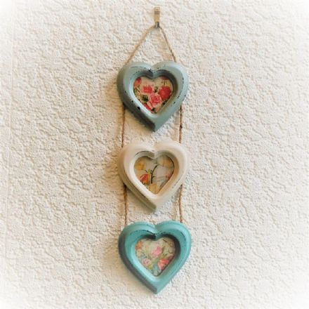40% off Delilah Triple Heart Photo Frame Small